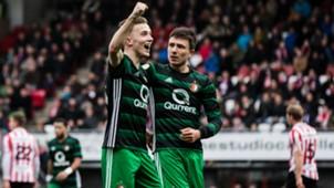 Dylan Vente, Steven Berghuis, Feyenoord, Eredivisie 12172017