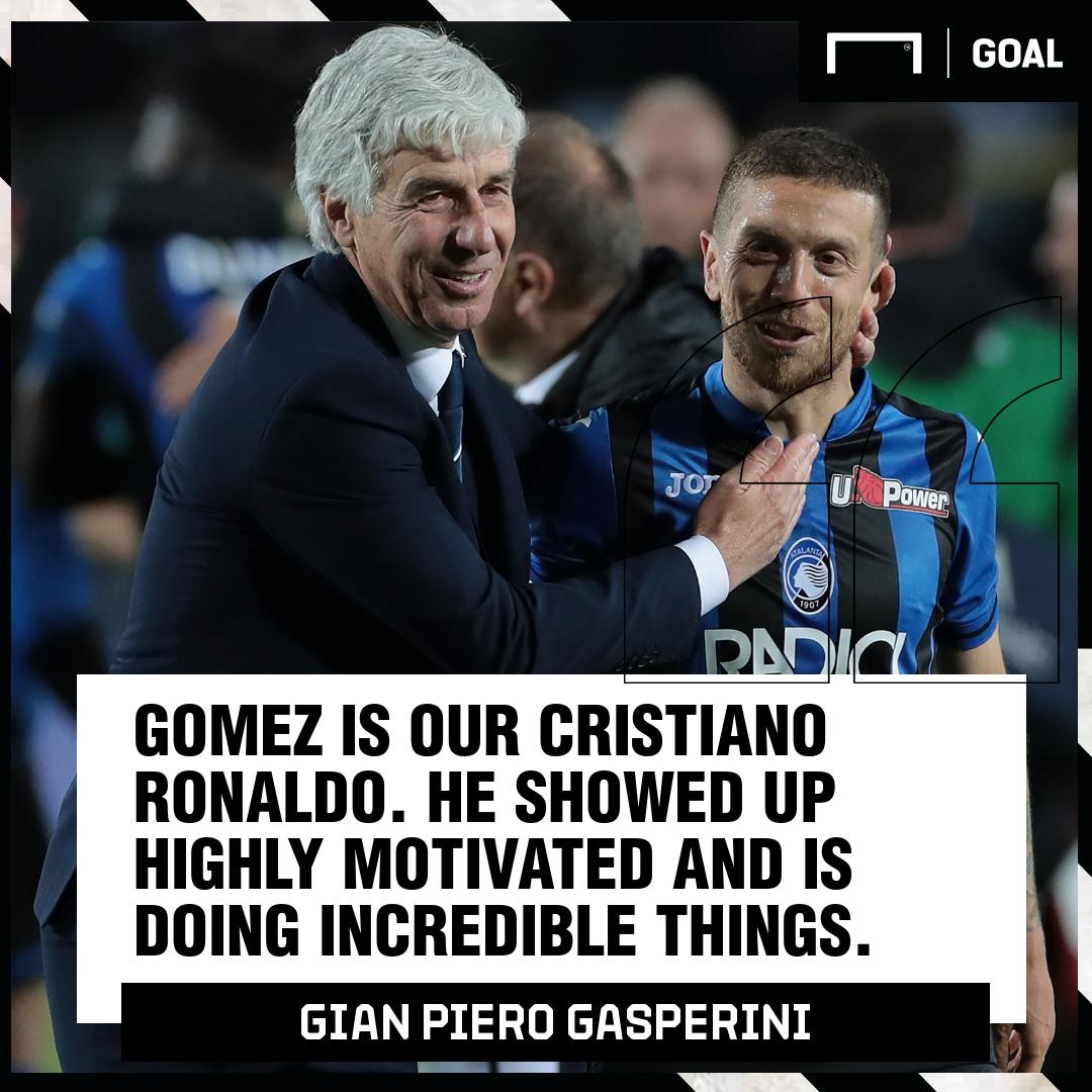 Gian Piero Gasperini Papu Gomez Atalanta PS