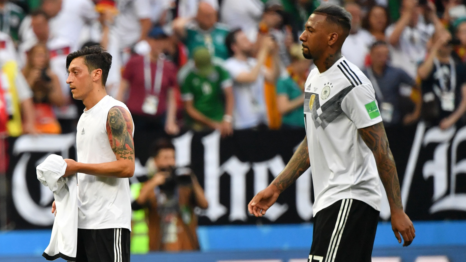 Mesut Özil Jerome Boateng Germany
