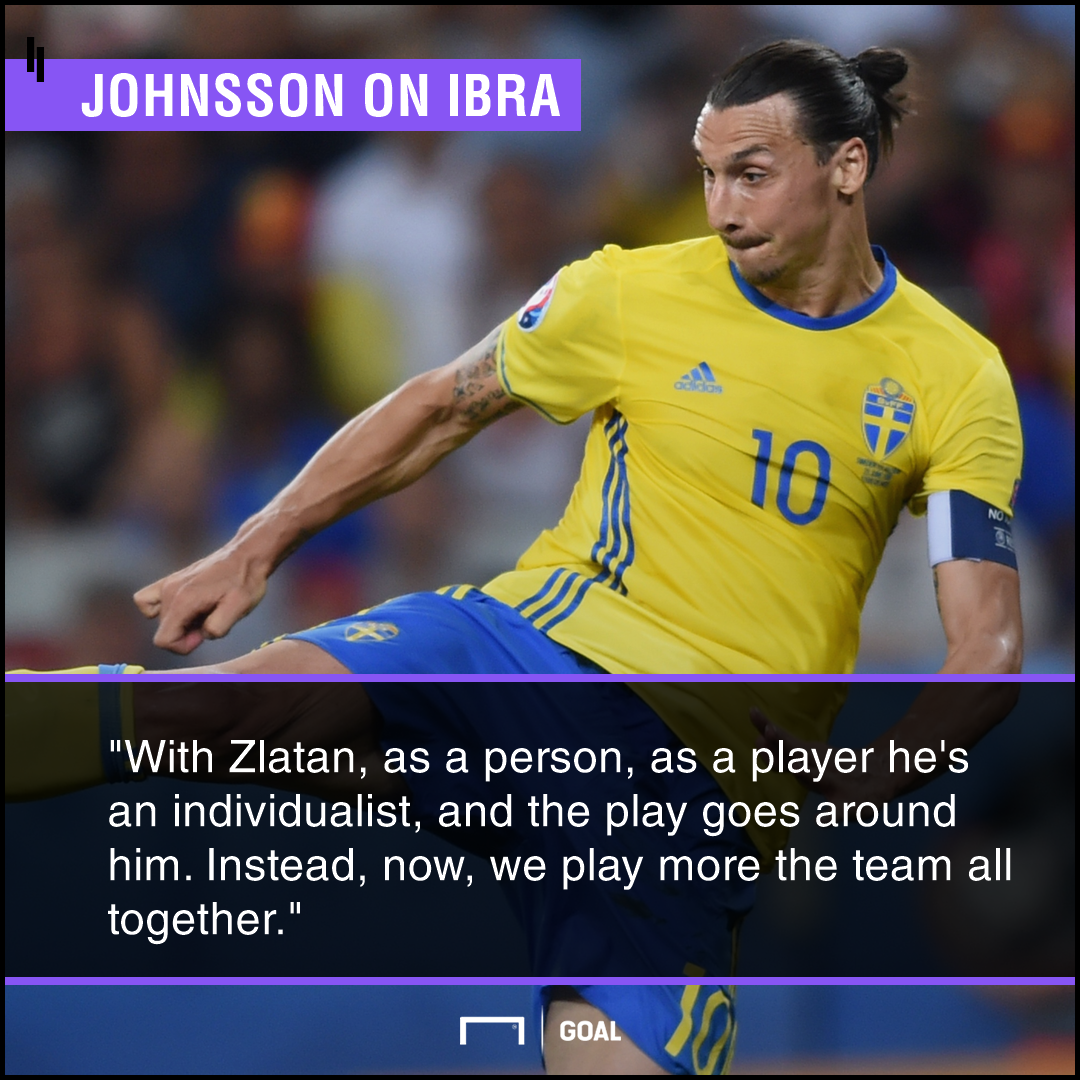 Zlatan Ibrahimovic individualist Karl-Johan Johnsson