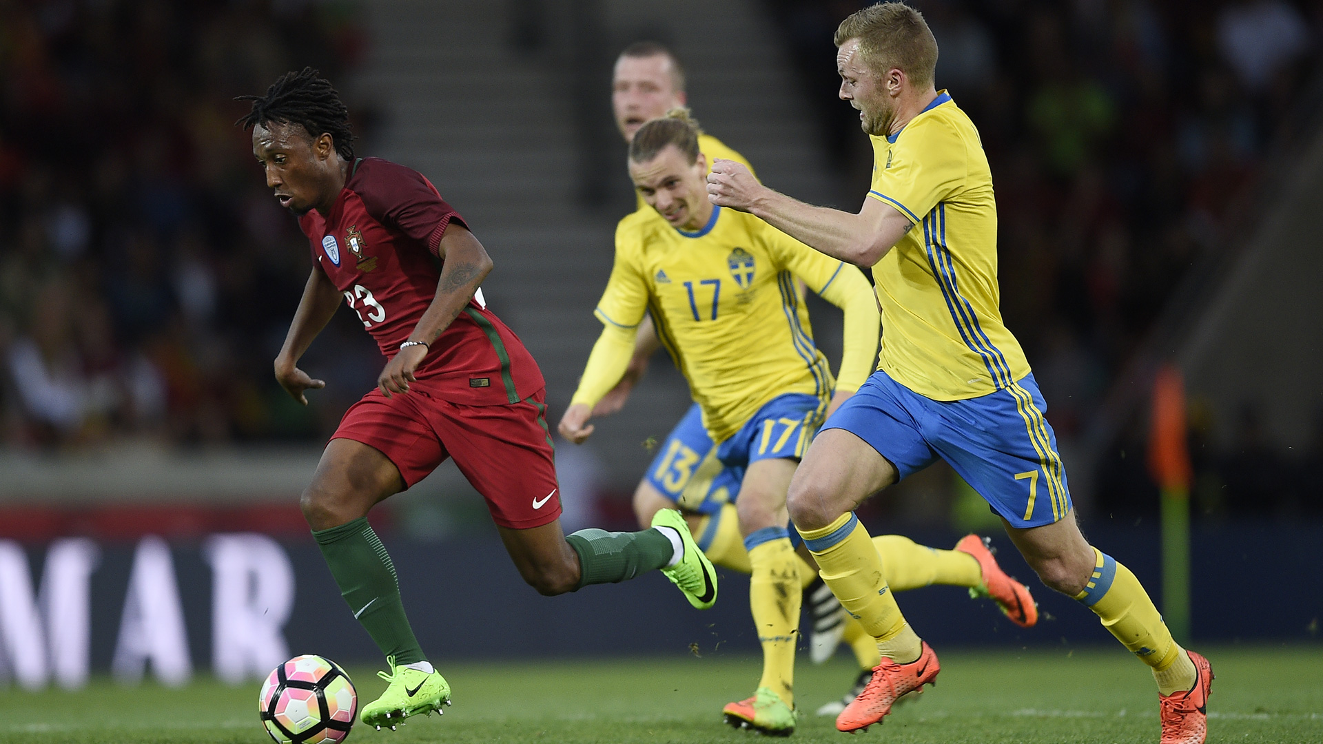 Gelson Martins Portugal WM Qualifikation 2017