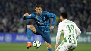 Cristiano Ronaldo Antonio Barragan Real Madrid Betis