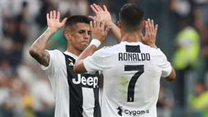 Joao Cancelo Cristiano Ronaldo Juventus