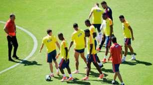 Colombia entrenamiento en Brasil Copa América 2019