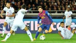 Lionel Messi Barcelona Al Sadd 2011