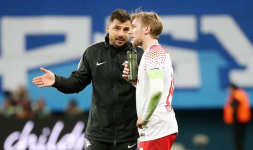 Emil Forsberg Lőw Zsolt Low RB Leipzig