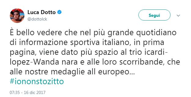 Tweet Luca Dotto