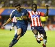 Yimmi Chará Boca - Junior Copa Libertadores 2018
