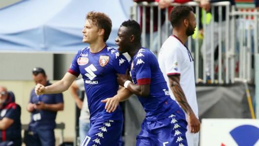 Adem Ljajic, Afriyie Acquah, Cagliari, Torino, Serie A, 04092017