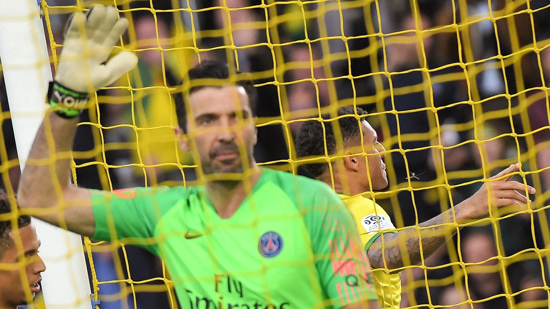Buffon PSG Nantes igue 1 17 04 2019