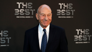 Patrick Stewart FIFA Best Awards