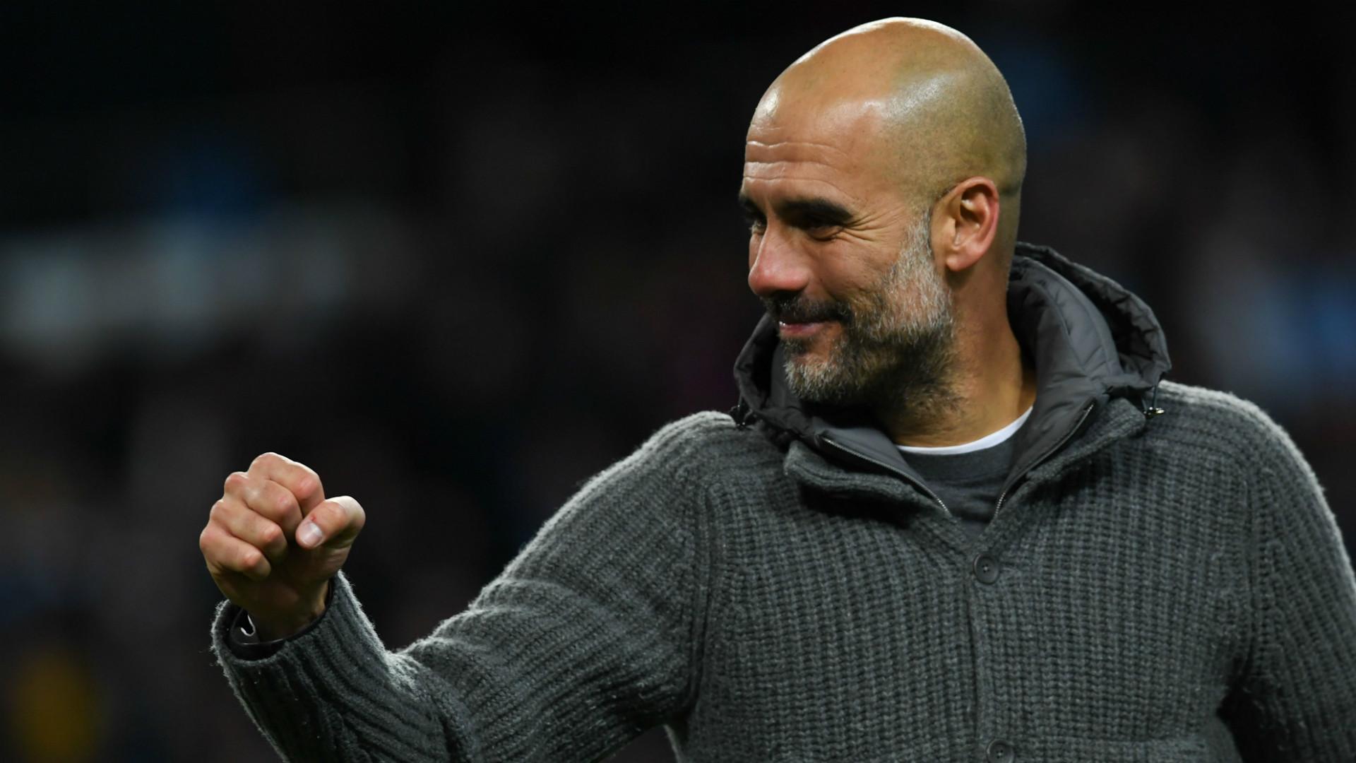Man City boss Pep Guardiola: Pressure is nice - it's ...