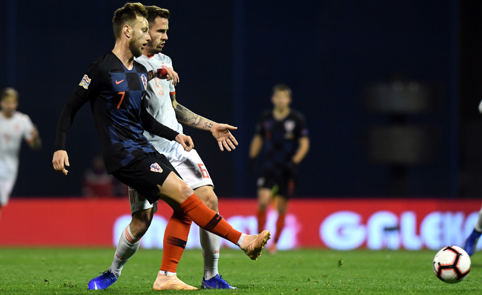 Rakitic Saul Croatia Spain UEFA Nations League
