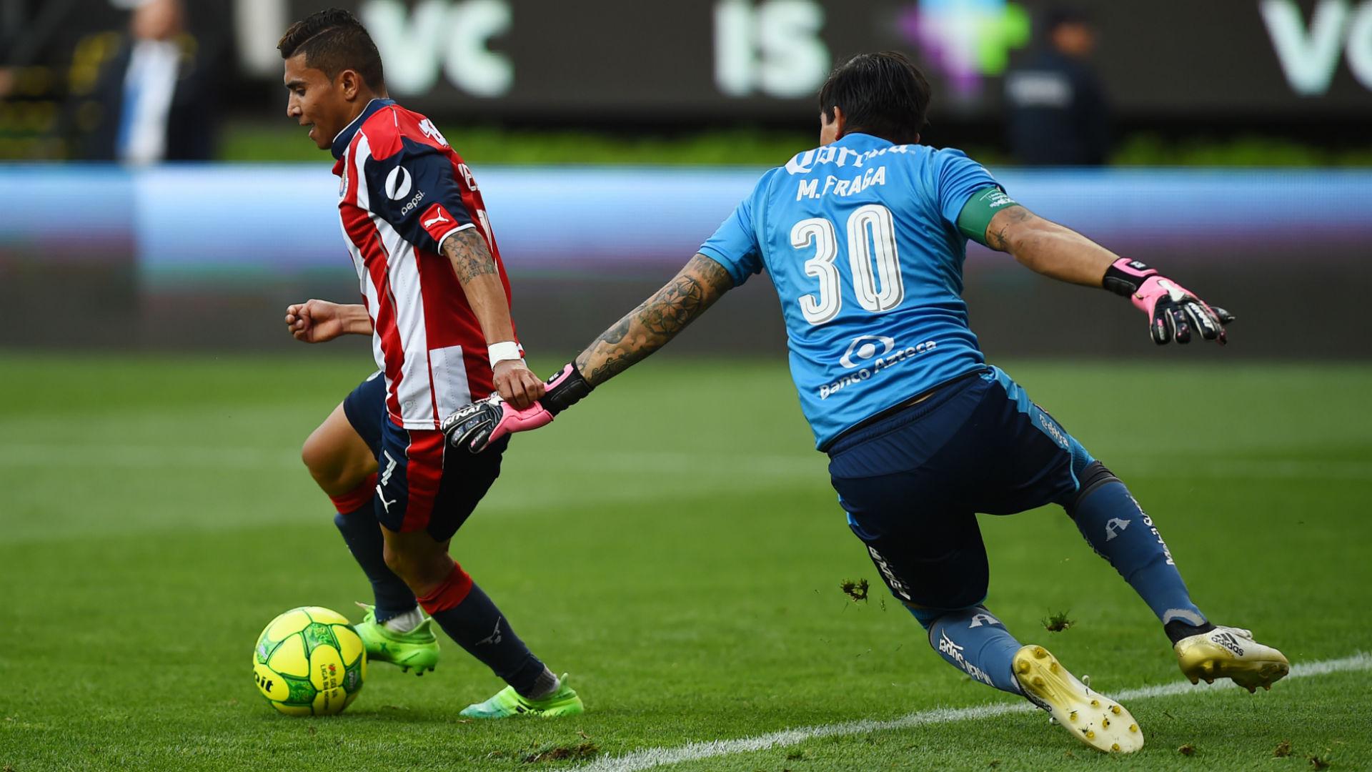 Orbelin Pineda vs Atlas 4tos de final Clausura 2017