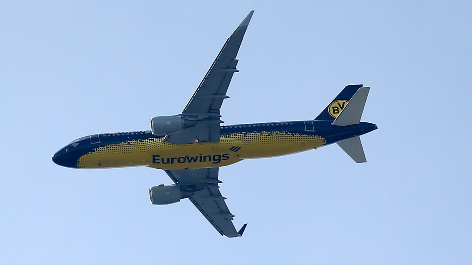 Borussia Dortmund plane