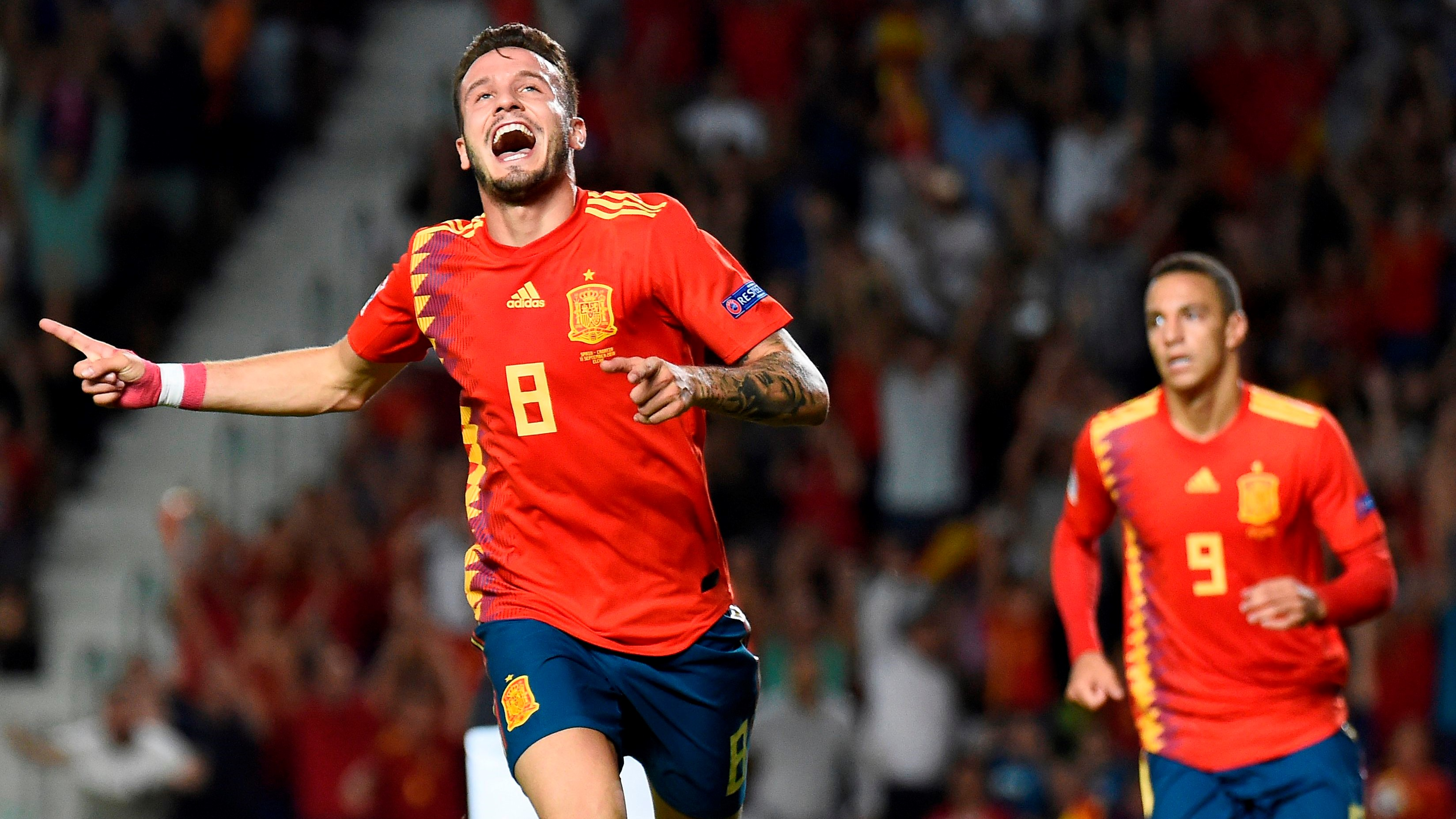 Saul Niguez España Croacia Spain Croatia UEFA Nations League 11092018