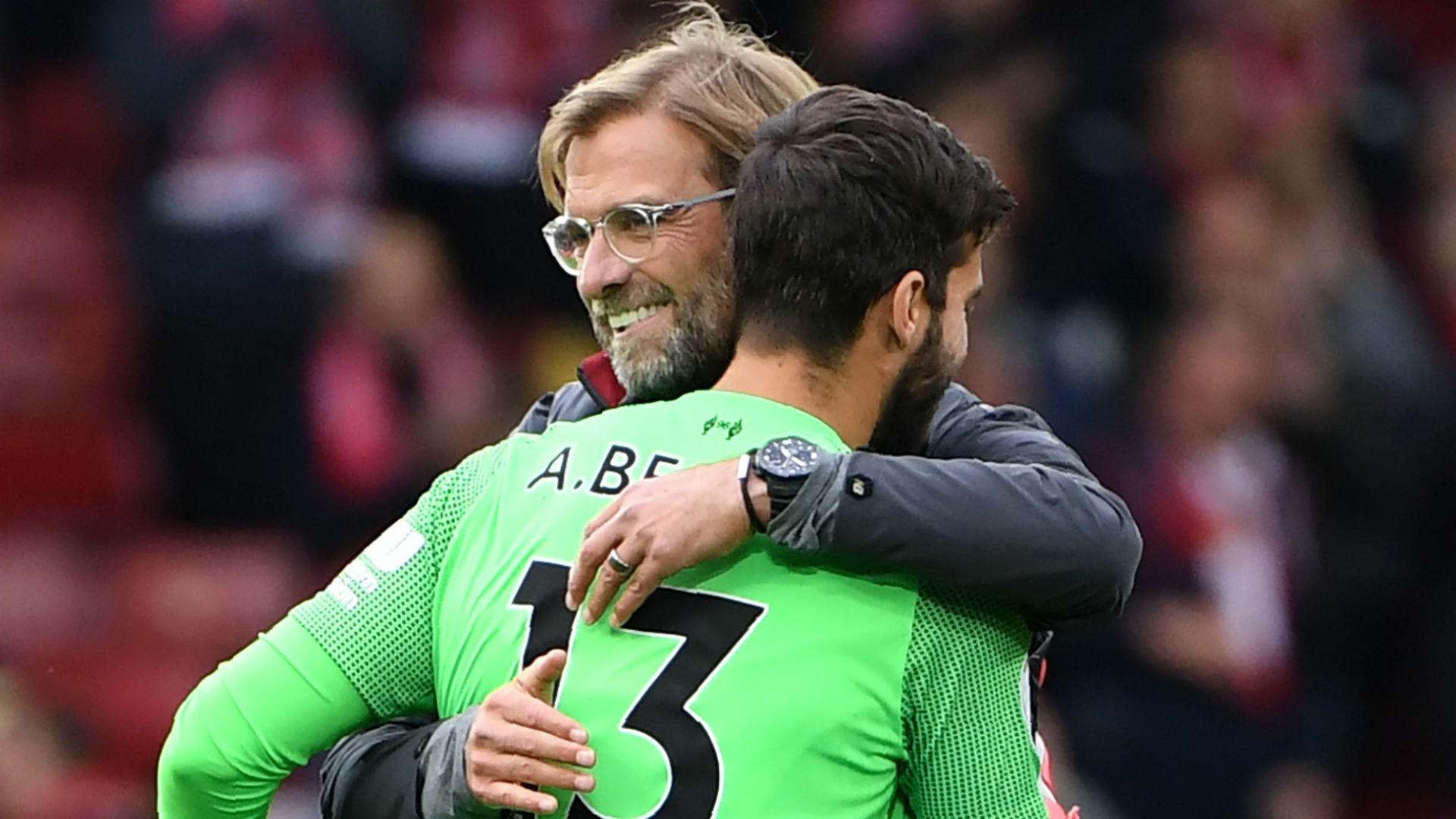 Klopp Alisson Liverpool 11 12 2018