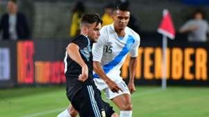 Nicolas Tagliafico Jorge Vargas Argentina Guatemala 2018