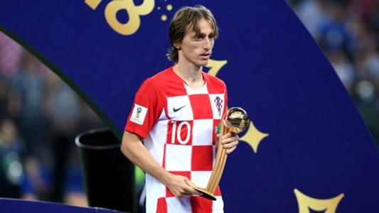 Luka Modric Croatia World Cup 15072018