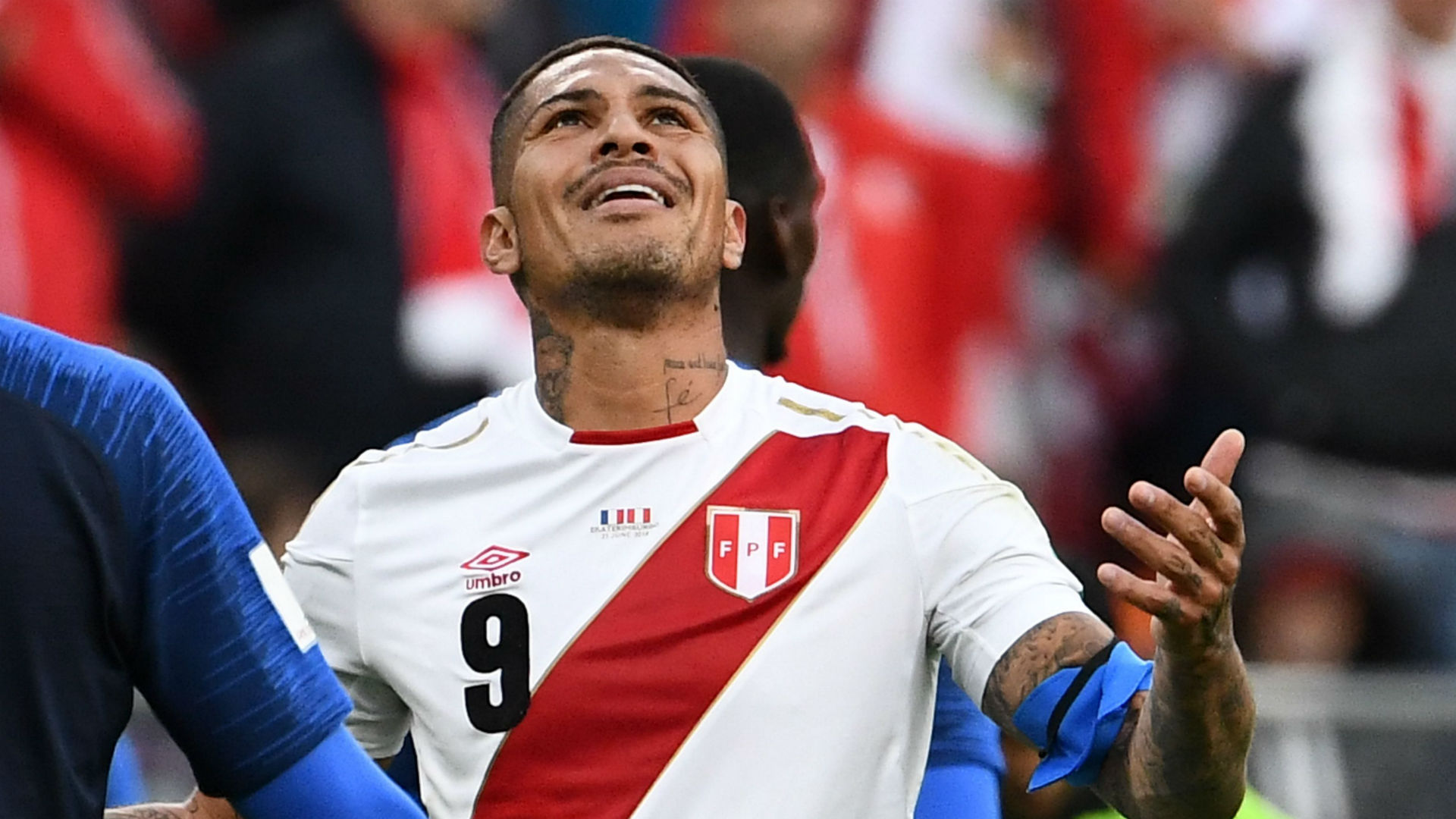 Paolo Guerrero Peru France World Cup