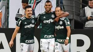 Willian Bigode Miguel Borja Guerra Palmeiras Junior Barranquilla Copa Libertadores 16052018