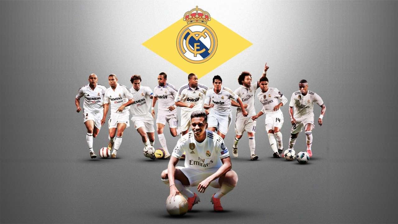 GFX Brazil Brasil - Real Madrid - Rodrygo