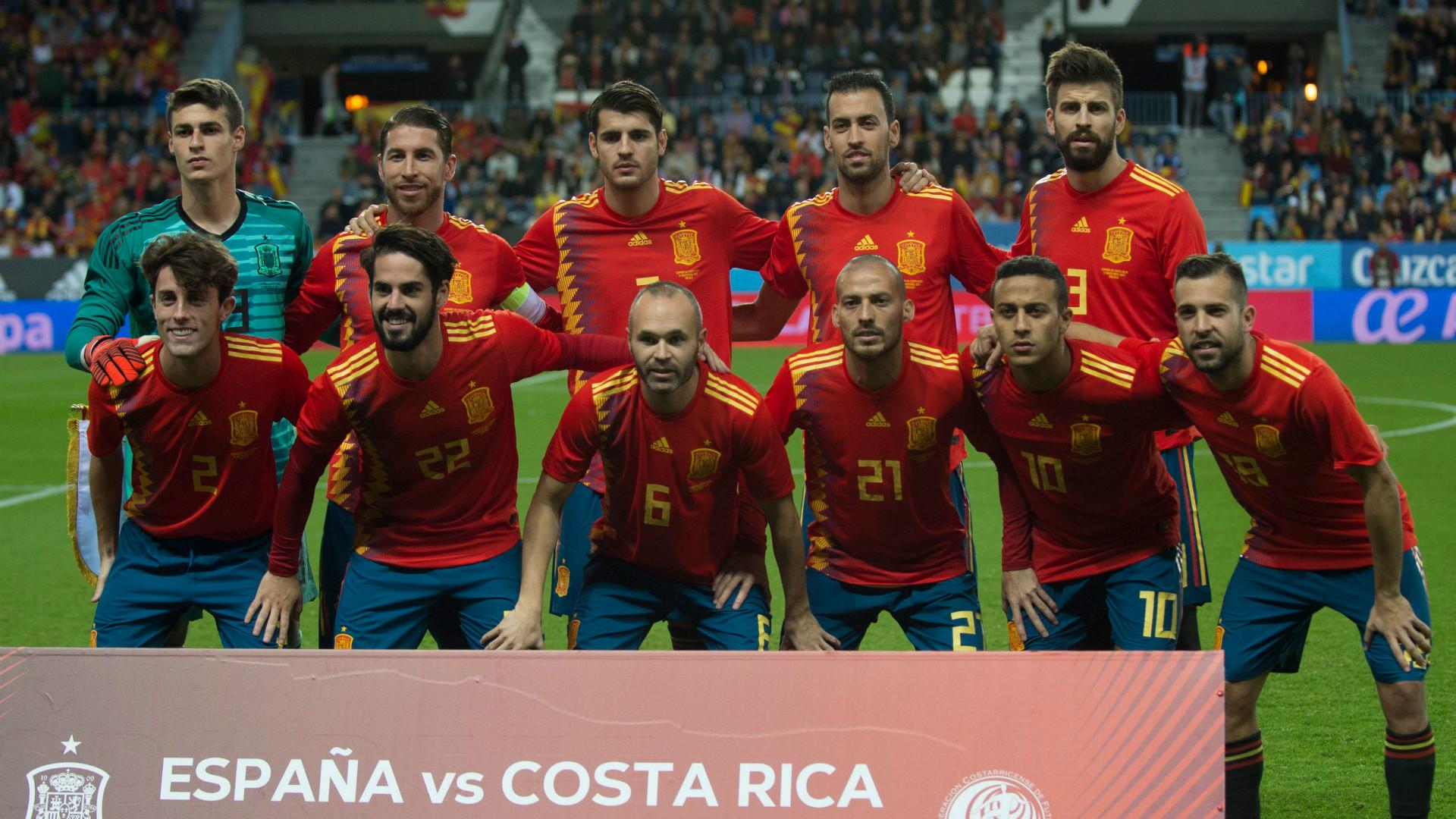 España empató con Rusia en juego amistoso de preparación