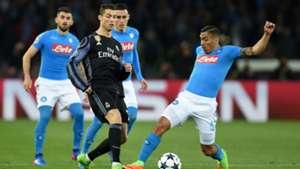 Cristiano Ronaldo Allan Napoli Real Madrid
