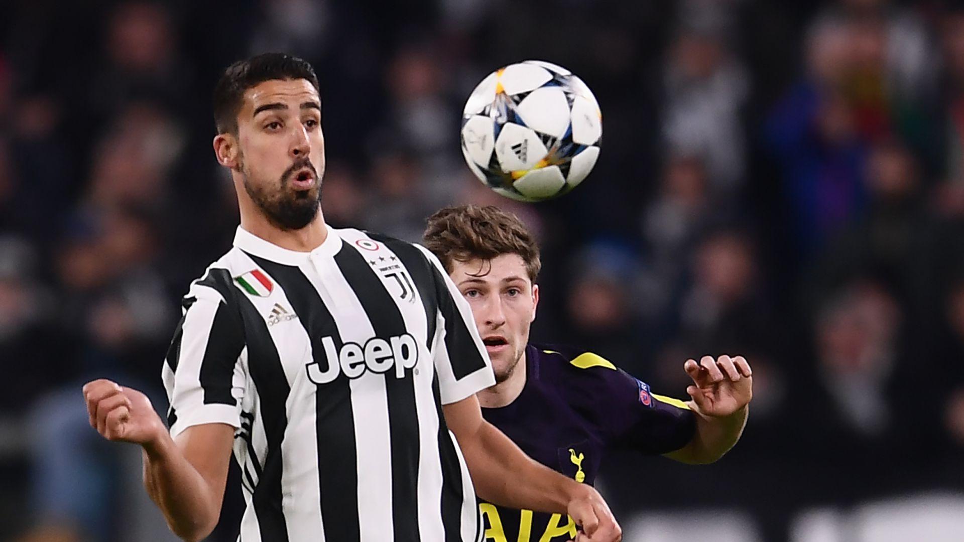 Sami Khedira Juventus Tottenham