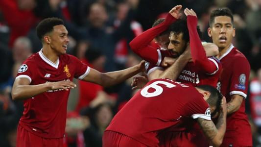 Mohamed Salah Liverpool Roma