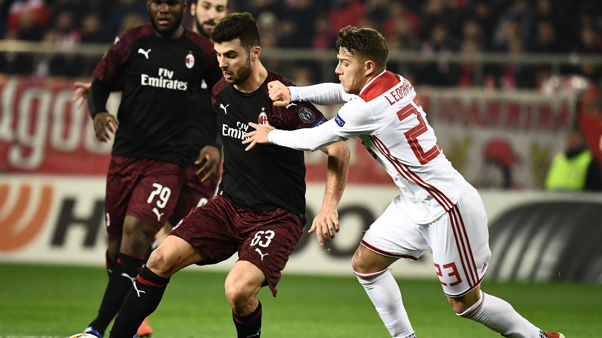 Patrick Cutrone Olympiacos Milan Europa League
