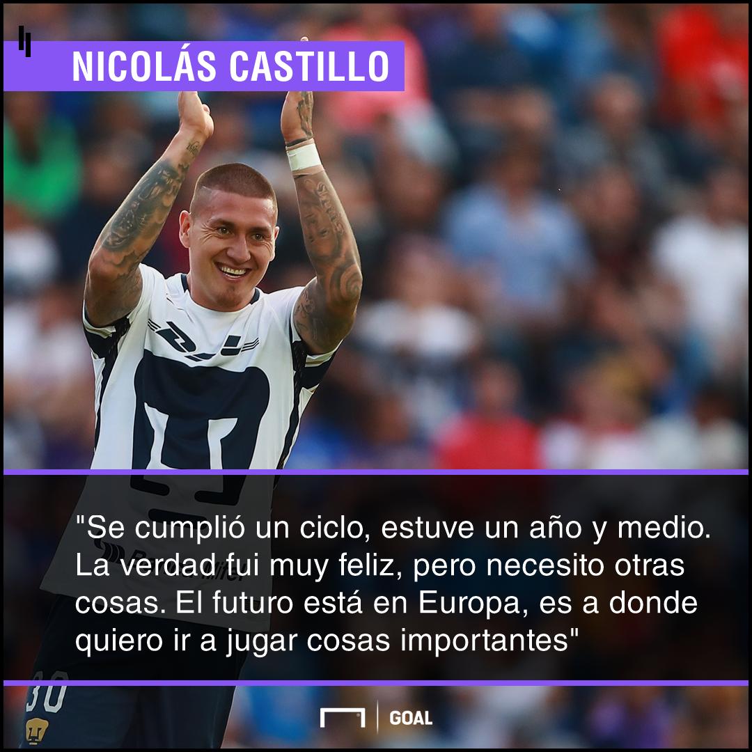 Nico Castillo quote