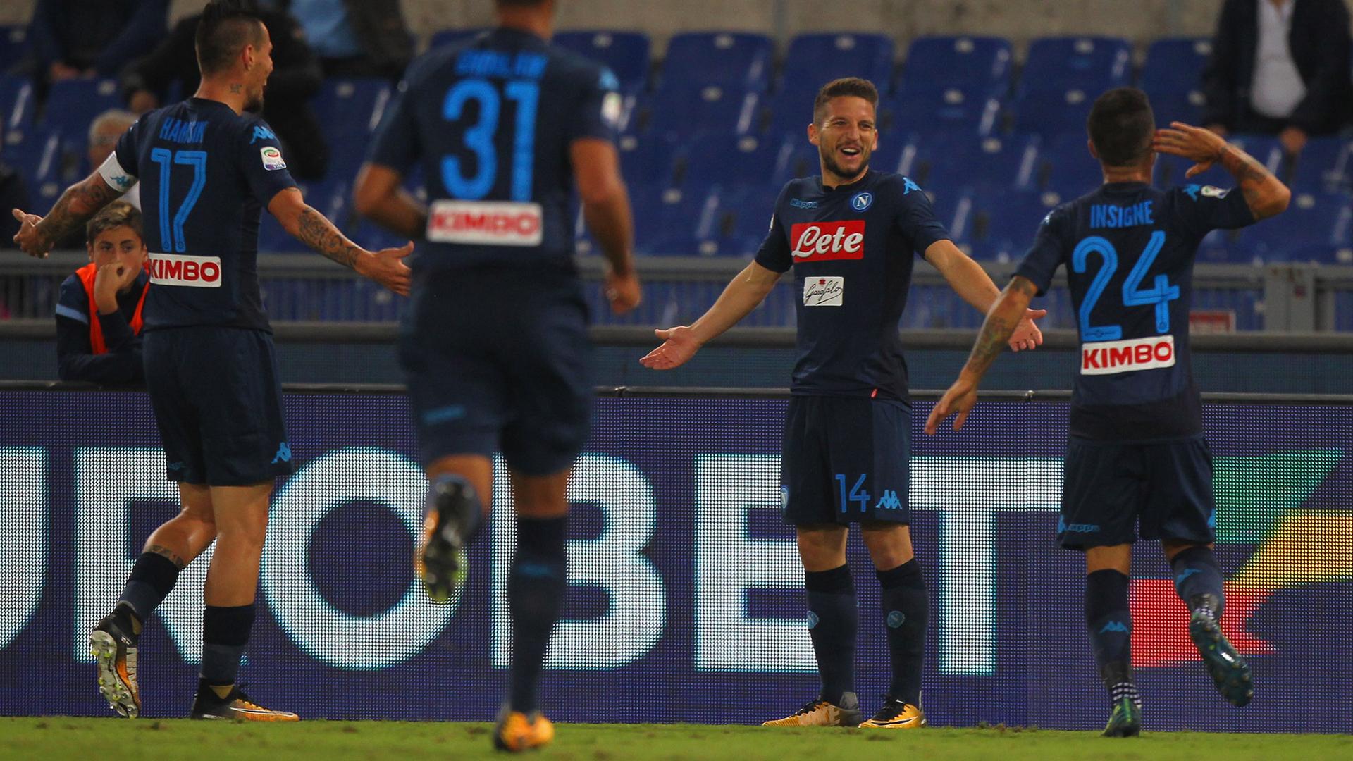 Dries Mertens Napoli Lazio