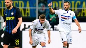 Quagliarella Inter Sampdoria Serie A