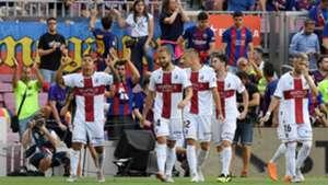 Por qué el Huesca lleva una cruz roja en la camiseta   756c5c7e8962e