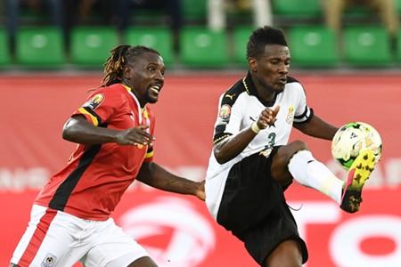 Hassan Wasswa and Asamoah Gyaan Afcon 2017