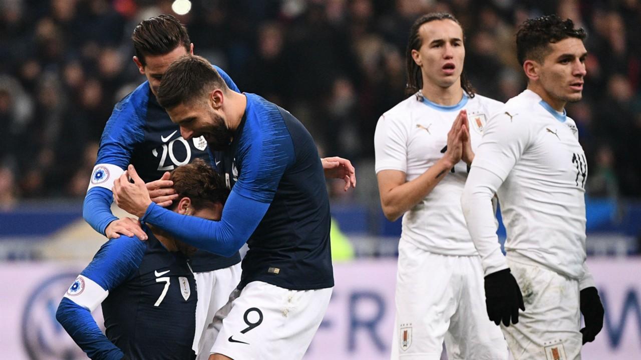 France national team: Didier Deschamps praises Antoine Griezmann's 'amazing spirit' following Olivier Giroud gesture