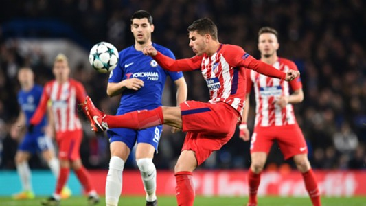 Lucas Morata Chelsea Atletico Madrid Champions League