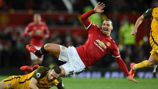 Zlatan Ibrahimovich Manchester United Brighton