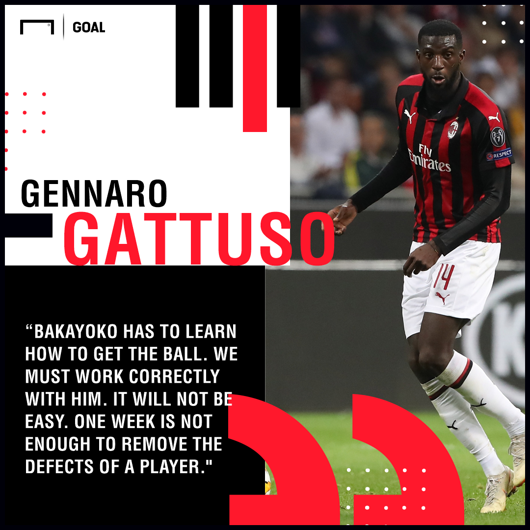 Tiemoue Bakayoko Gattuso PS