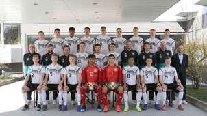 U-17-Germany Team presentation