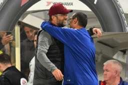 Jurgen Klopp Maurizio Sarri Chelsea Liverpool