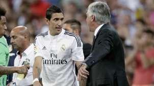 Angel Di Maria Carlo Ancelotti Real Madrid