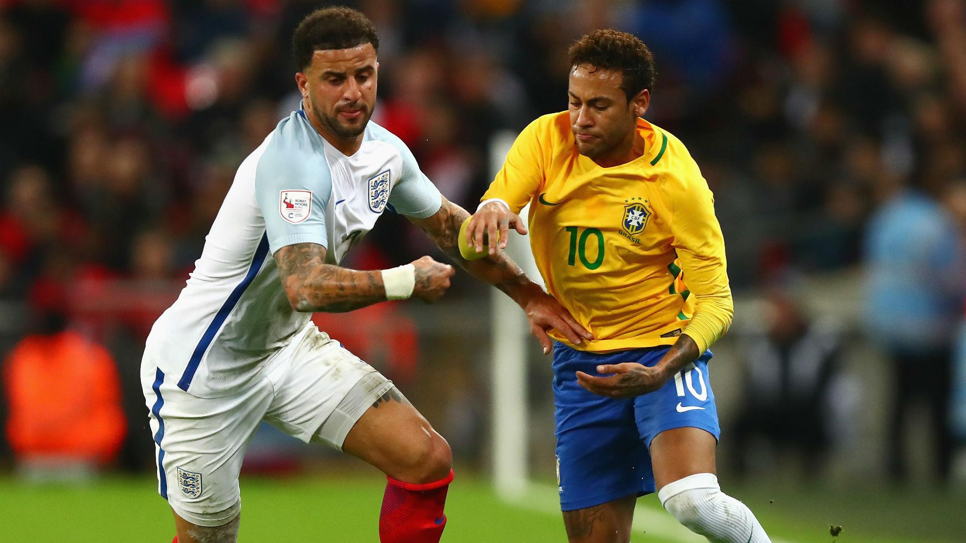 Neymar Brazil England