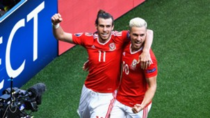 Aaron Ramsey Gareth Bale Wales Euro 2016