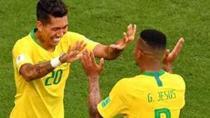 Firmino Gabriel Jesus seleção Brasil 13 06 2019