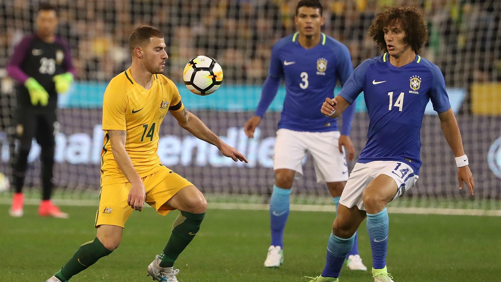 David Luiz Brazil Australia 13062017