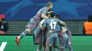 Besiktas goal celebration 6122017 UCL