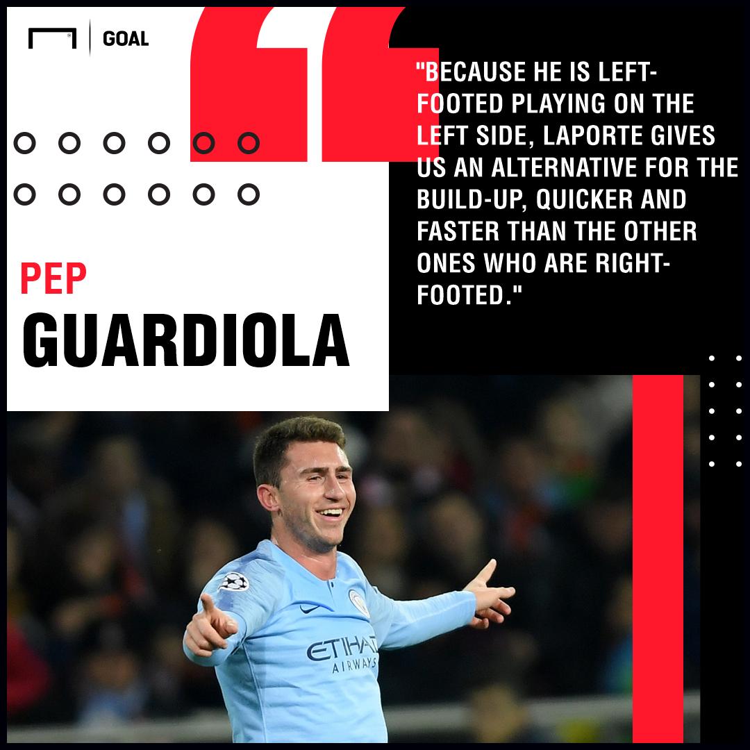 Aymeric Laporte Guardiola Man City PS