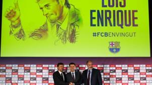 Presentación Luis Enrique